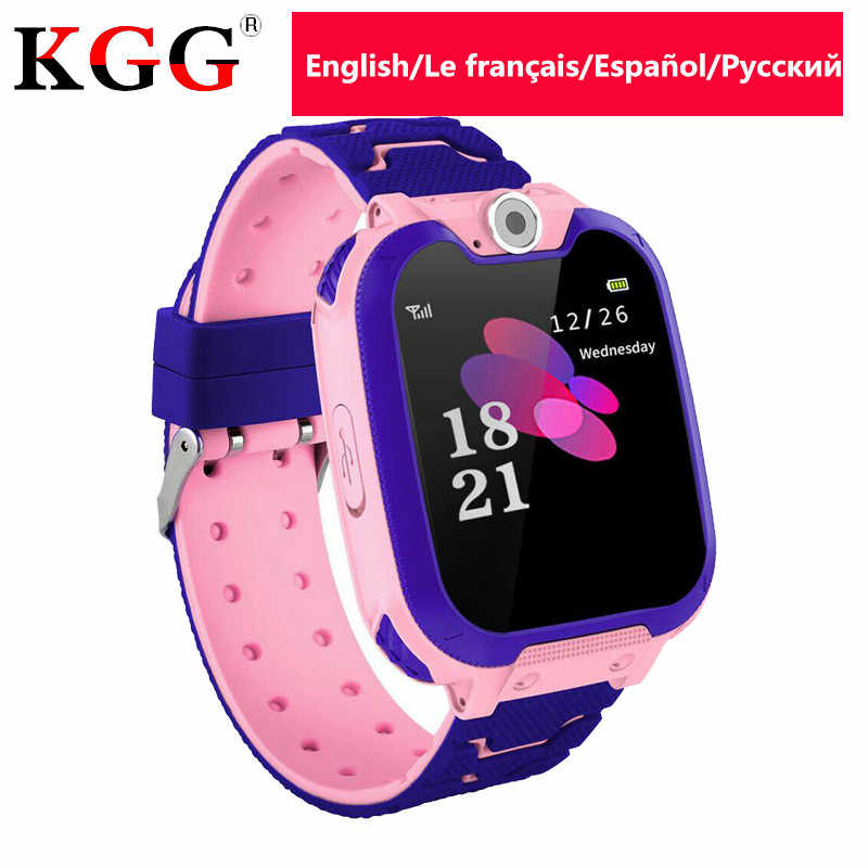 KG10 Kids Phone Smartwatch Games 1.54 inch Touch Screen Music Player SOS Two-Way Call Child Baby Smart Watch