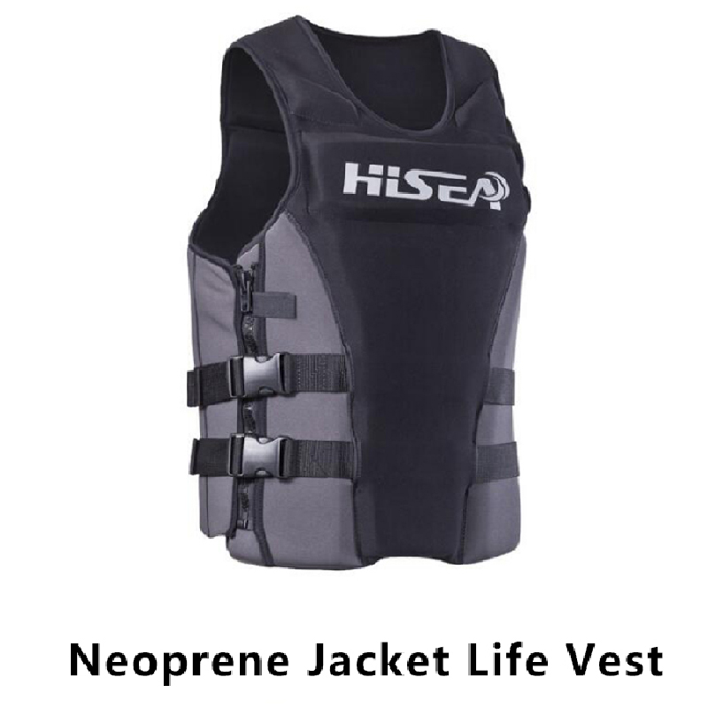 Professional Neoprene Life Vest Swimming Surfing Floating Rafting Life Vest Snorkeling PFD Inflatable Water Safety Life Vest flamingo white swan inflatable swimming mounts on water floating bed floating row unicorn adult swimming ring
