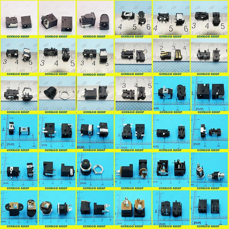 Power-Jack-Connector Tablet Female-Socket DC for Laptop Mini-Pad Computer 36models 1800pcs