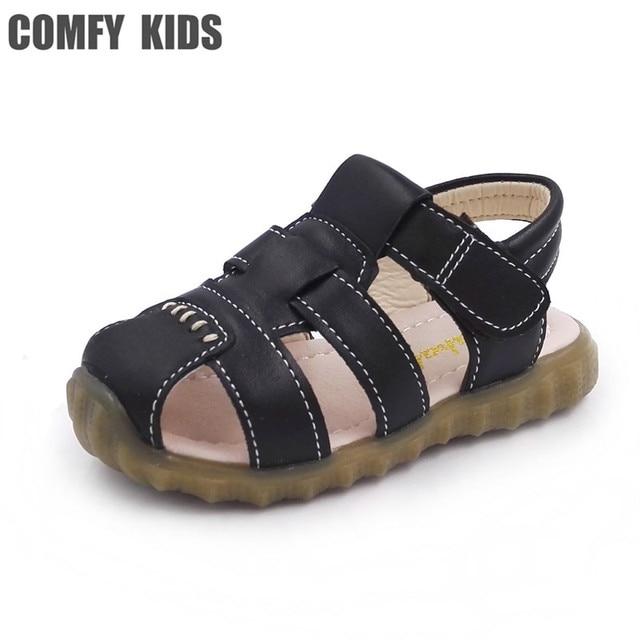 Sandales Garçons Casual PU Mode Chaussures Confortable UKKV22j9z