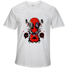 BTFCL Marvel The Avengers END GAME Deadpool Print New Movies T Shirt Men Summer Funny Cool Tees Unisex Loose Plus Size Tshirt