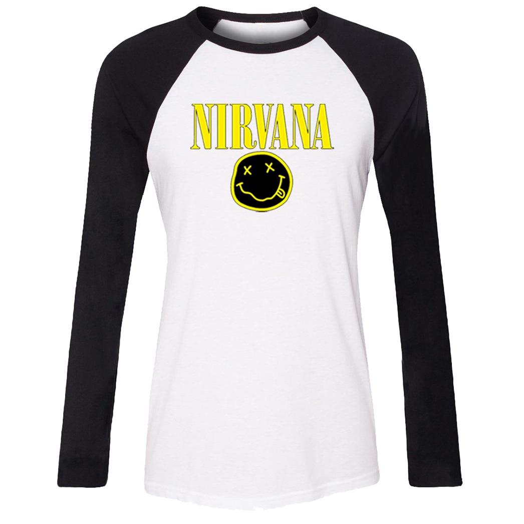Black t shirt grunge - Nirvana Kurt Cobain Grunge Rock Band Cute Emoji T Shirt Women Futurama Enjoy Slurm Girl S Tshirt Patchwork T Shirt Casual Tops