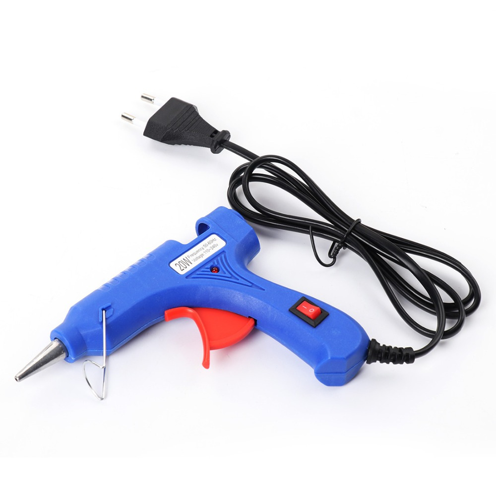 Discreet 1 Pc Us Plug 20w 100-240v Professional Mini Electric Heating Hot Melt Glue Gun Refreshment
