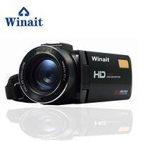 At A Glance Professional Digital Vedio Camera HDV Z20 WIFI Remote Control 3 0 Touch Screen