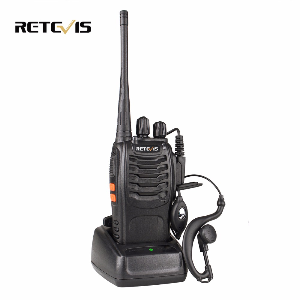 1pcs Retevis H777 Walkie Talkie UHF 400-470 MHz 16CH Ham Radio Hf Transceiver Portable Two Way Radio Communicator A9104A