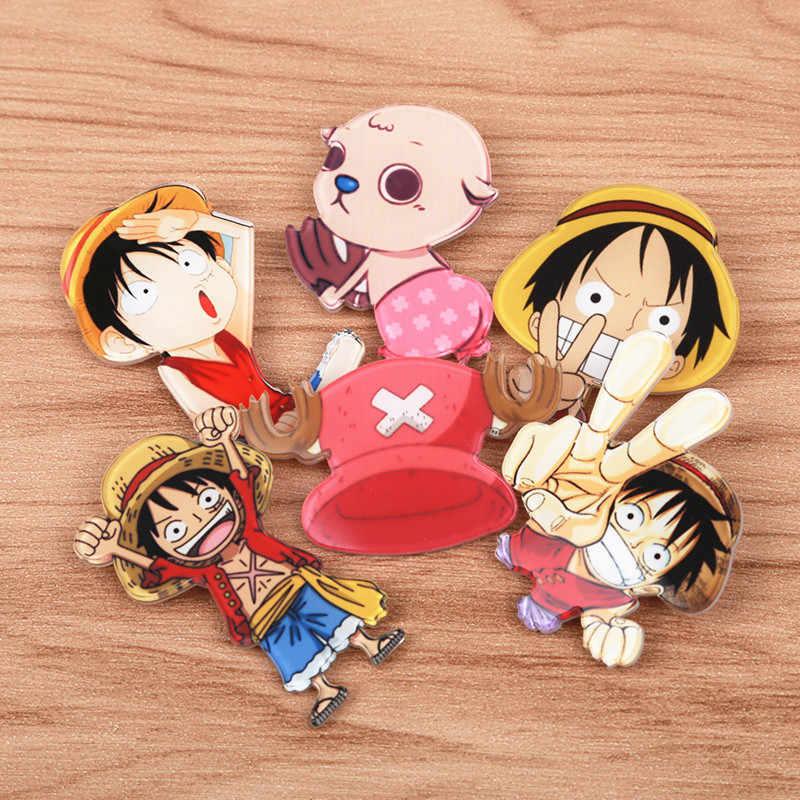 FFF Spille di Un Pezzo 1 Pezzo della Scimmia D Luffy Chopper Spilla Espressione Distintivo Spille Moneta Icona Giappone Popolare Anime Cosplay gioco di Ruolo