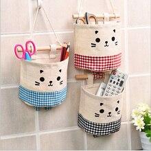 Фотография  New multi-storey cloth closet storage basket door storage bag hanging wall hung hanging wall storage basket