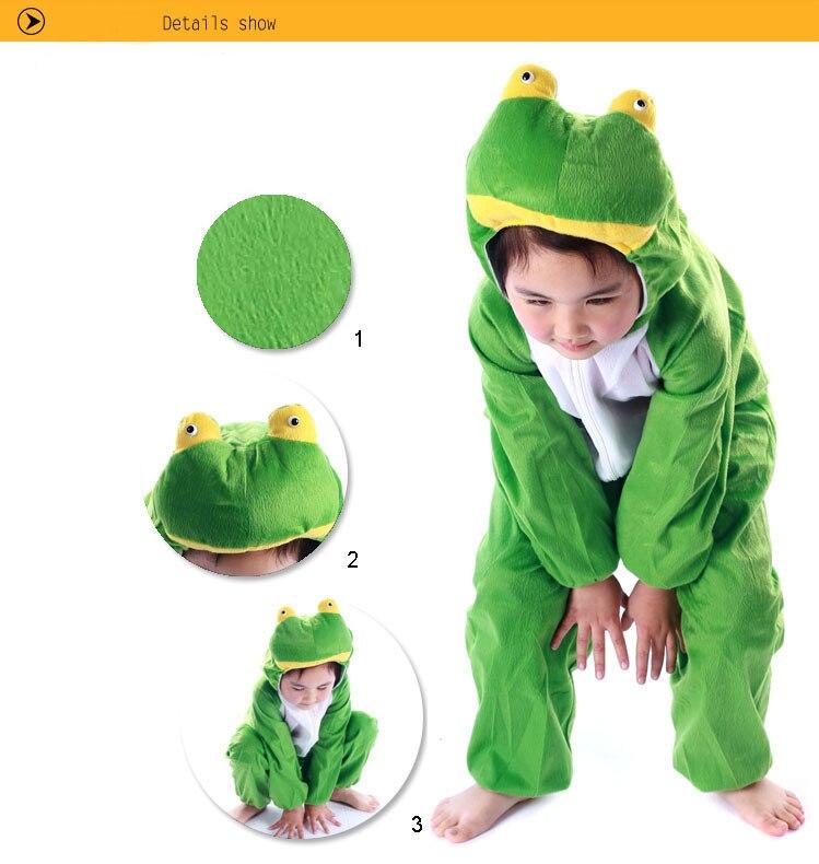 Lovely Kids Unisex Children Onesie Anime Onesie frog in Stock