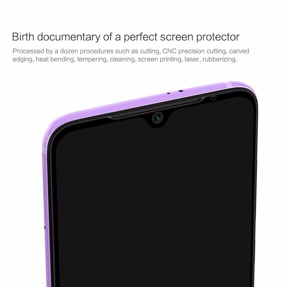 Tempered Glass Screen Protector For xiaomi mi 9 NILLKIN Amazing 3D CP+MAX  Nano Anti-Explosion 9H full cover Protective Glass