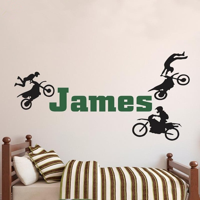 Online Buy Wholesale motocross wall decals from China ...