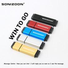 Clé USB dirve, clé USB 3.0, disque SSD, solide, 512 go, 256 go, 64 go, 128 go, 32 go, clé USB, système windows 10, clé USB, SONIZOON, XEZSSD3.0