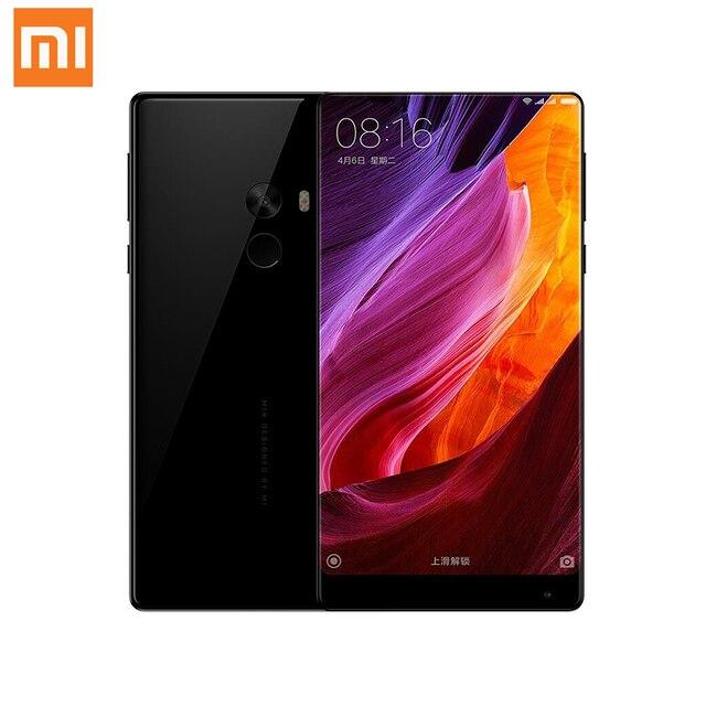 """Оригинал xiaomi mi mix 6 ГБ 256 ГБ snapdragon 821 quad core nfc fdd lte 4 г 16.0mp 6.4 """"2040x1080 P FHD 4300 мАч Смартфон 18 К Золото"""