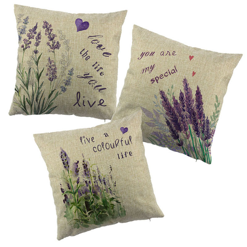 Lavender Flower Throw Pillow : Popular Lavender Throw Pillow-Buy Cheap Lavender Throw Pillow lots from China Lavender Throw ...