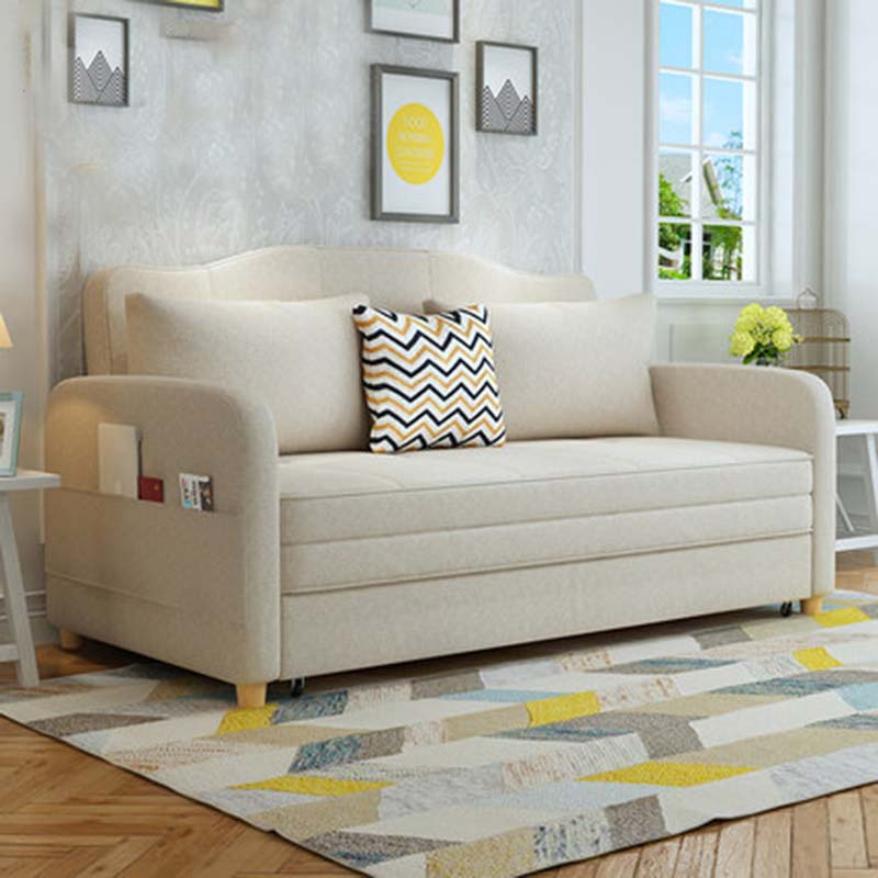 Multifunctional Sofa Bed Living Room Double Simple Modern