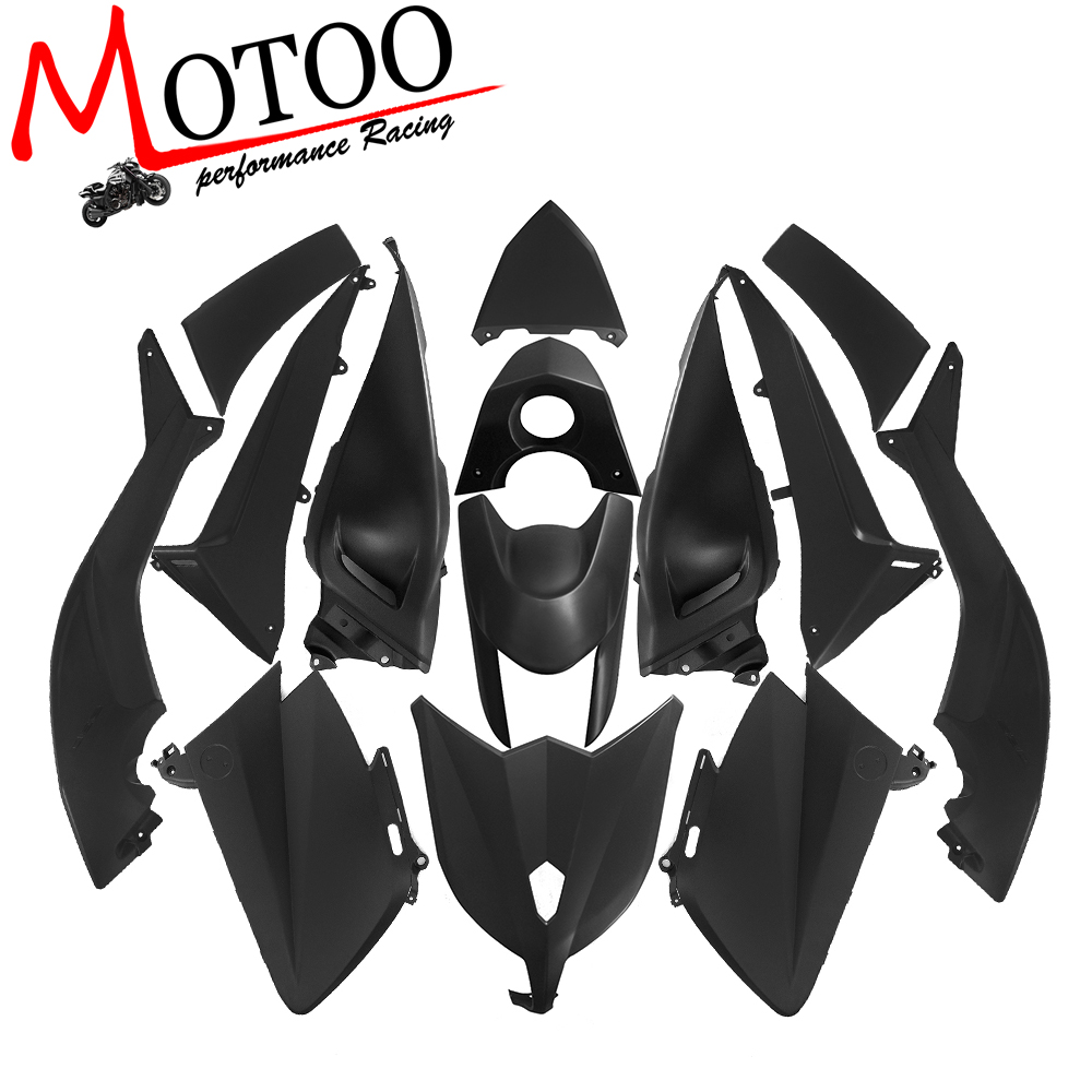Motoo - FOR YAMAHA TMAX530 2012-2014 Plastic ABS Injection Motorcycle Fairing Kit Bodywork Cowlings 10 pieces 6mm motorcycle fairing body screws for honda cr 250 f4i vfr800 cbr1100xx suzuki bandit 600 gsr 750 yamaha tmax 530