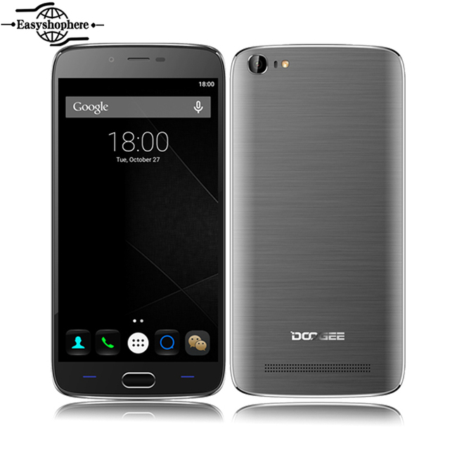 Original Doogee Y200 4G LTE Smartphone 5.5 Inch Android 5.1 MTK6735M Quad Core 2G RAM 32G ROM Mobile Phone 13.0 MP Cellphone