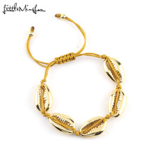 mens fashion bracelets Shell Charm copper beads Macrame Braided women & bangles For Women men gold jewelry accessories