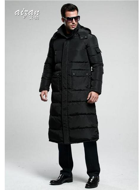 a97f30078d3b4 2015 Winter Outdoor Leisure Men Long Down Jacket