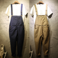 2017 plus size jumpsuits rompers for women men korean nice jean fashion denim solid clothes pants casual work pants trousers