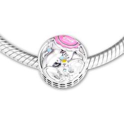 DIY Подходит для Pandora Charms браслеты Dumbo & mr. Jumbo Beads 100% 925 пробы-серебро-ювелирные изделия Бесплатная доставка