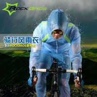 Rockbros à prova dwaterproof água camisa de ciclismo homem mulher manga longa camisa de bicicleta motocross à prova de chuva camisa da bicicleta