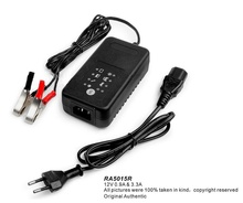 12V Car Battery Charger motorcycle Charger for 12V lead acid battery,with 30A larger alligator clips for car battery