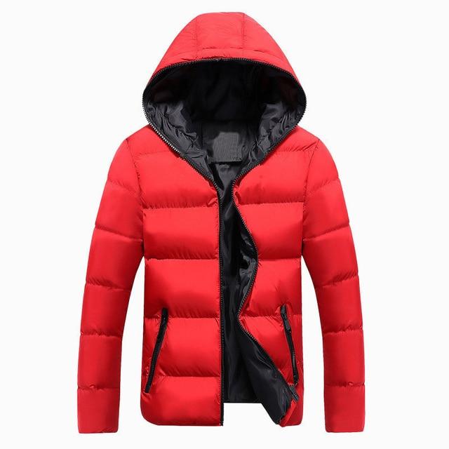 Jackets Men 2019 Winter Casual Outwear Windbreaker Jaqueta Masculino Slim Fit Hooded Fashion Overcoats Homme Plus Size 2