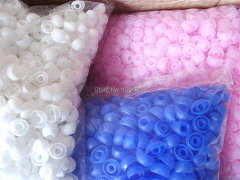 Linhuipad Replacement Silicone Earbud Ear tips,silicone earphone covers ,3 size for you chose 3000pcs/lot