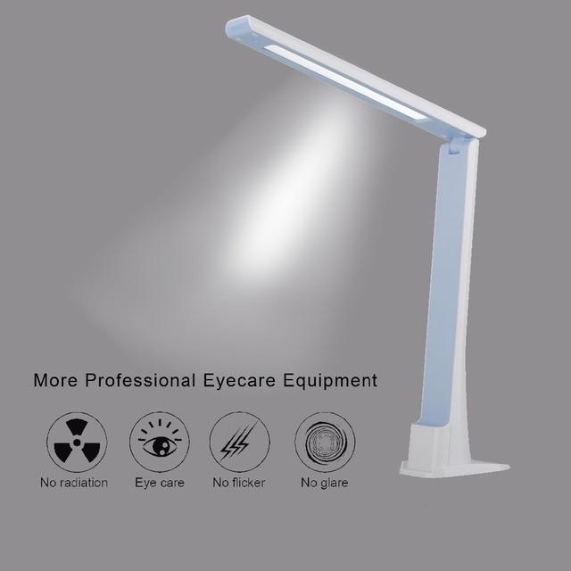 3 Уровень Затемнения СВЕТОДИОДНЫЕ Настольные Лампы Сенсорные Настольные Лампы с аккумулятором 2000 МАЧ батареи