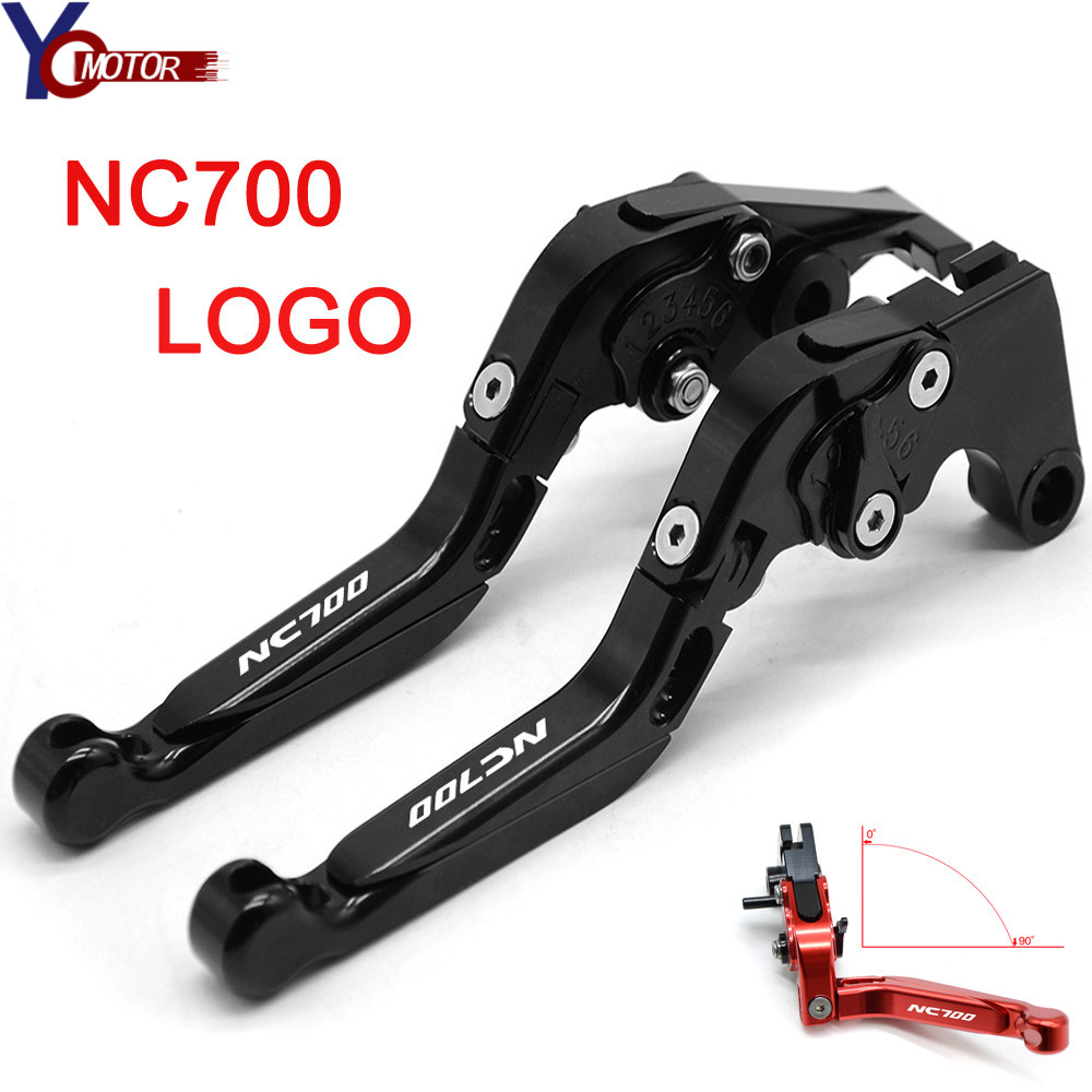 NC700 FOR <font><b>HONDA</b></font> NC700 <font><b>NC</b></font> <font><b>700</b></font> NC700 S/X 2012 2013 Motorcycle Accessories Adjustable Folding Brake Clutch Levers Brake Handle image