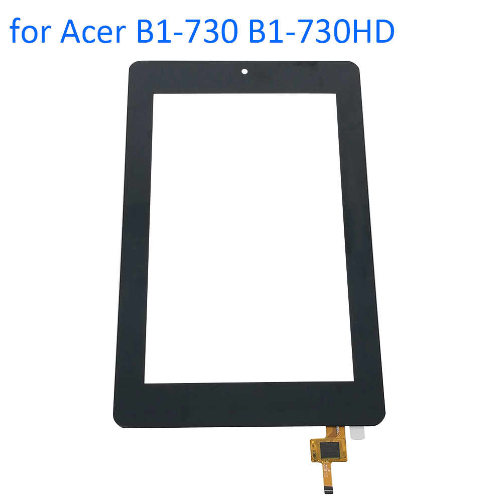 ALANGDUO for Acer Iconia One 7 B1-730 B1-730HD Touch Screen Digitizer Panel Front Touchscreen Replacement + Tools + 3M Adhesive new 7 inch digitizer touch screen panel glass for acer iconia one 7 b1 730 p n cff3325 c free shipping