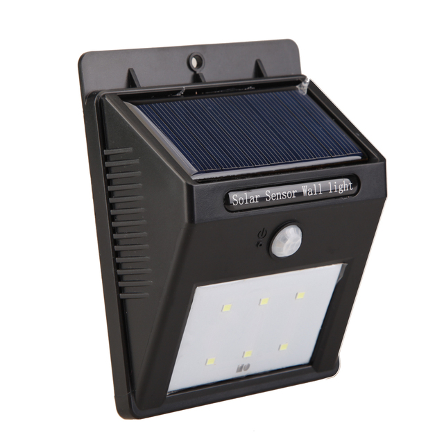 Attractive Solar Power PIR Bewegungs Sensor Garten Hof Wand Licht Super Helle Garage  Sicherheit Tür Lampe