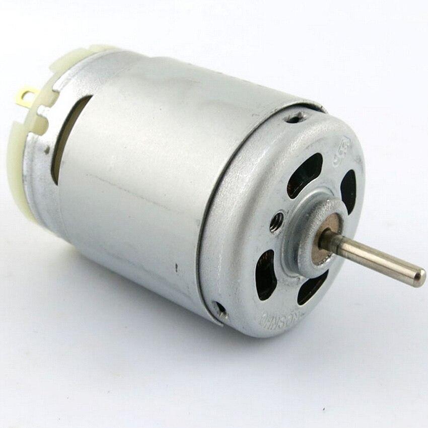 The latest high-speed tool motor DIY model 385 micro DC motors