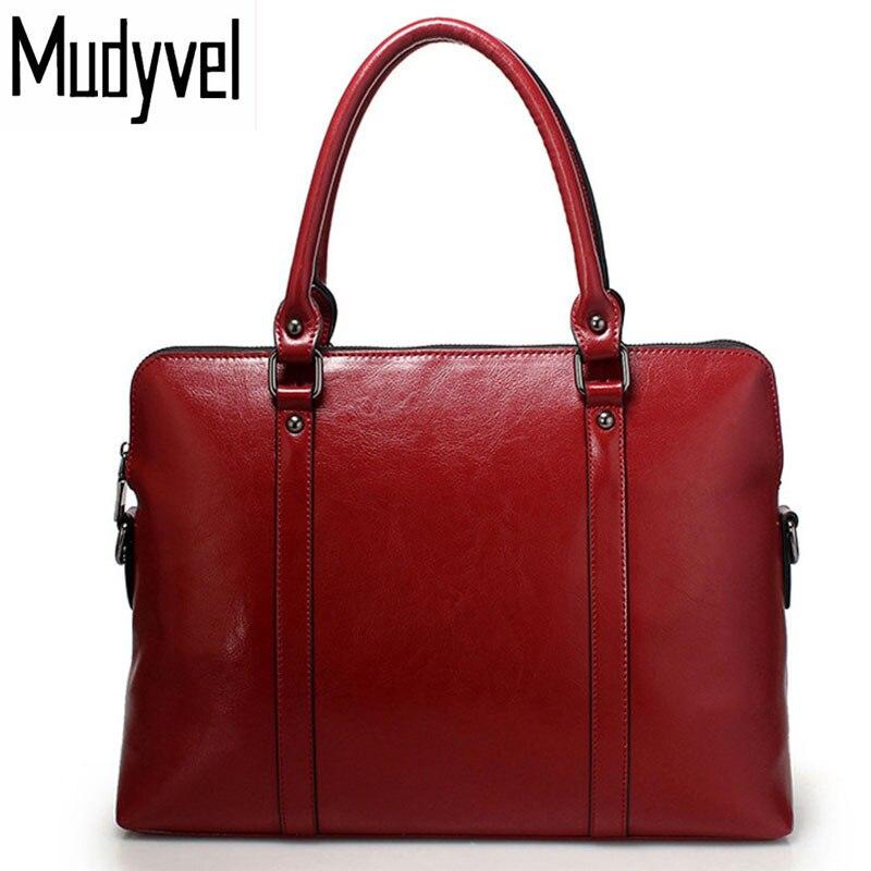 Новая женская сумка из натуральной кожи коровы сумки тонкий 14-дюймовый ноутбук портфель кошелек Женщины сумки на ремне сумка