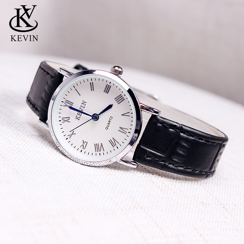 KEVIN KV Fashion Women Watches Ladies Watch Students Gifts Present Leather Simple Quartz Wrist Watch Girls Lady Dropshipping