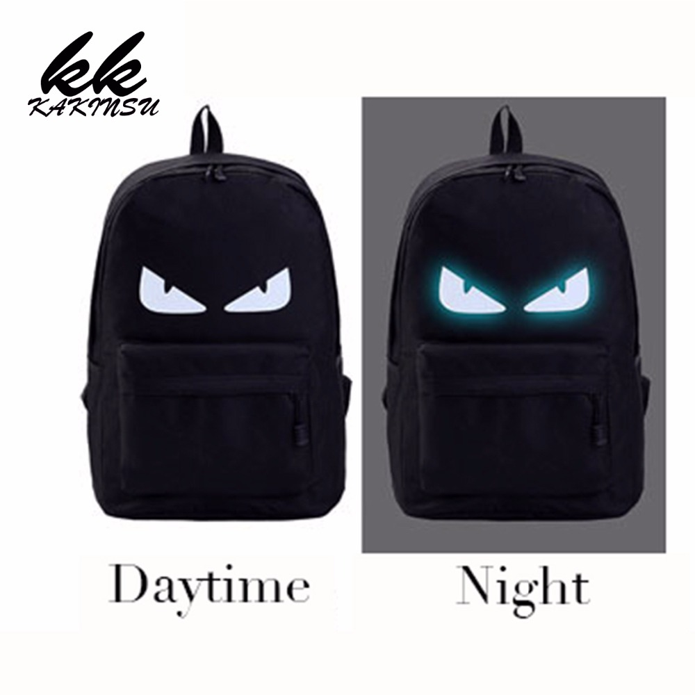2017 New Fashion Night light Casual Men's Backpack Anime Luminous Teenagers Men Student Cartoon School Bags Travel Rucksack anime death note cosplay anime backpack male and female student bag travel backpack
