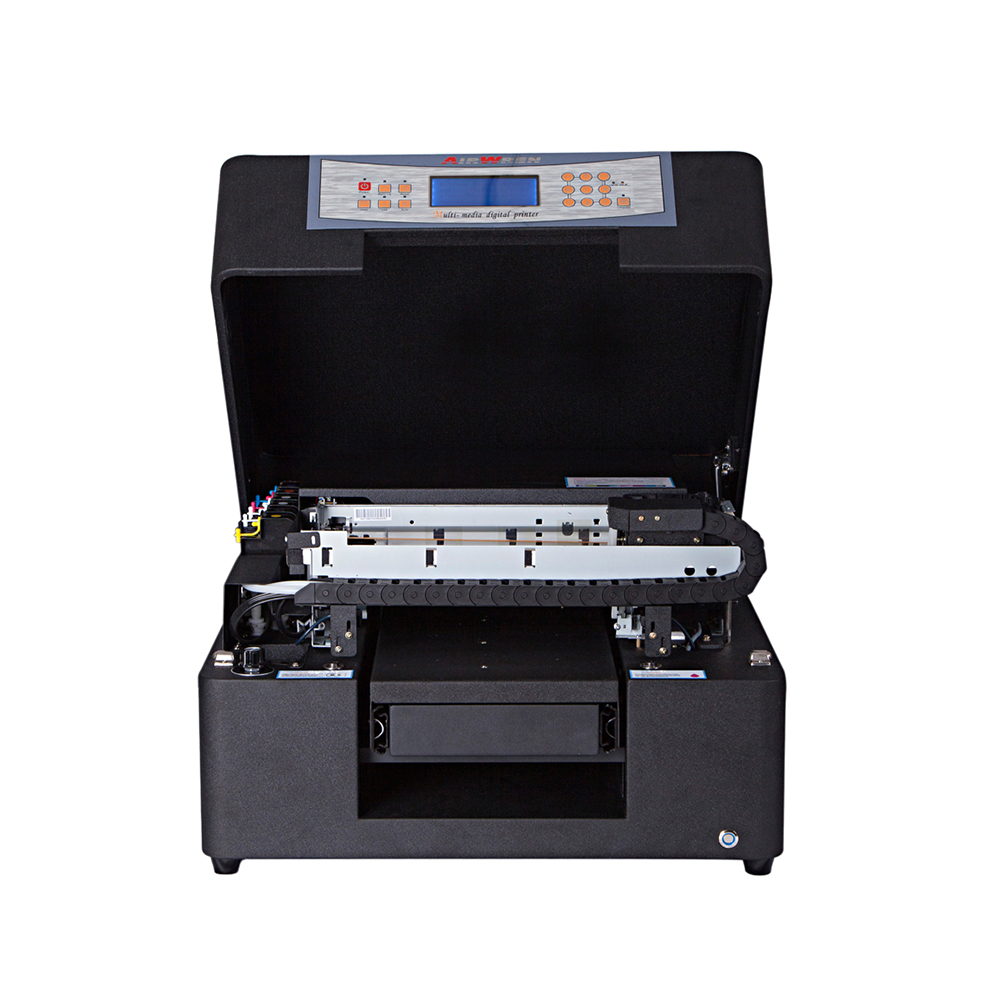 AR-LEDMini6 Flatbed Uv Printer For PVC / Acrylic / Glass / Wood / Phone Case Pen / Card / Glof Ball