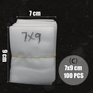 Image 4 - MUCIAKIE 100PCS Flat Fabric Nursery Grow Bags Biodegradable Growing Bags Eco friendly Ventilate Plant Root Protection Bags