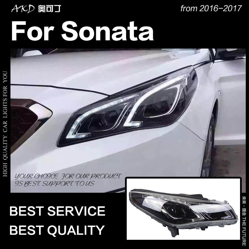 Sonata Led Headlight Mouse Over To Zoom In