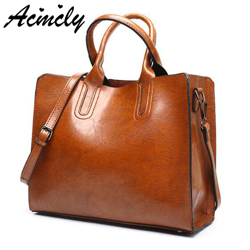 Pu Leather Bags Handbags Women Famous Brands Big Women Crossbody Bag Trunk Tote Designer Shoulder Bag Ladies large Bolsos a670/o 2018 soft genuine leather bags handbags women famous brands platband large designer handbags high quality brown office tote bag