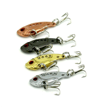 Hot Sale 3.5g/3.5cm 11g/5.5cm Fishing Lures Bionic Bait Fish Hard Bait Bass Vibration Lure Crankbait Fish Bass Bait Head Hooks