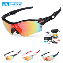 INBIKE Polarized Cycling Glasses Bicycle Sunglasses Bike Glasses Eyewear Ocular Eyeglass Goggles Spectacles UV Proof 911
