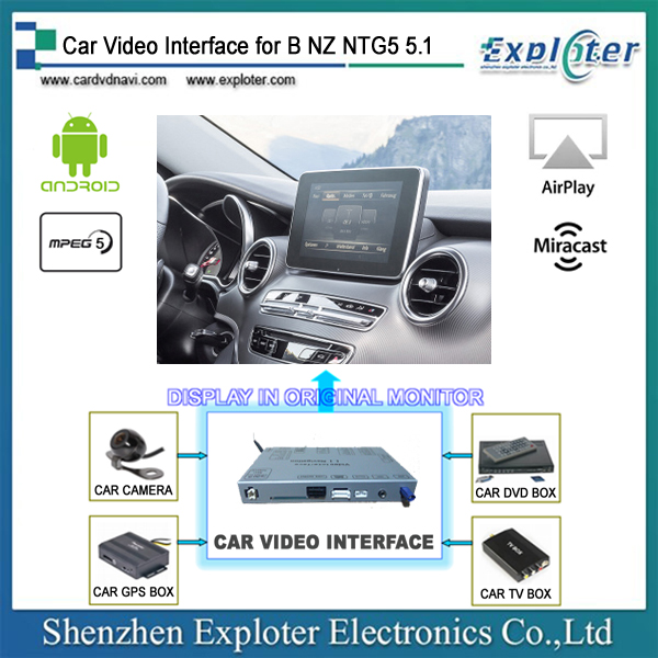 b nz android video interface for mercedes comand online. Black Bedroom Furniture Sets. Home Design Ideas