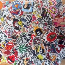 50 قطعة / الوحدة التصميم pvc ملصقات للماء الأزياء شخصية لل محمول للدراجات سكيت الأمتعة غيتار صائق لعبة ملصقا