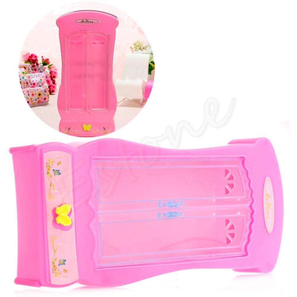 1 Stück Rosa Schrank Kleiderschrank Für Puppe Mädchen Spielzeug ...
