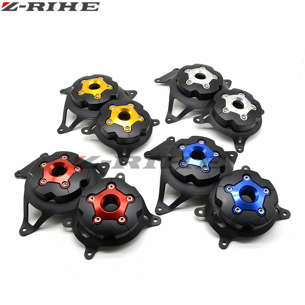 2pc Motorbike Motorcycle Engine Stator Cover Engine Protective Cover For kawasaki z800 Z750 2013 2014 2015 2016 Z750 2008-2016 engine stator crank case generator cover for kawasaki z750 2007 2008 2009 aluminum motorcycle accessories