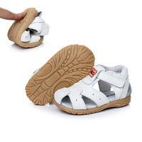 2014 Summer Children Leather Sandals Male Child Baby Toddler Shoes Soft Sweat Absorbing Slip Resistant Outsole