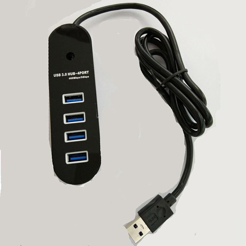 Basix USB HUB 3,0 внешний 4 Порты и разъёмы USB разветвитель концентратор с Micro USB Мощность Порты и разъёмы Для iMac портативный компьютер аксессуары