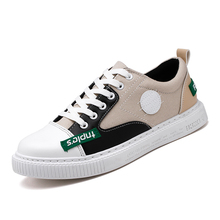 Купить с кэшбэком New Sneakers Men Casual Shoes Military Trainers Men Sneakers Lace Up Men Shoes Slip-on Outdoor Hiking Shoes Canvas shoes 6JL7803