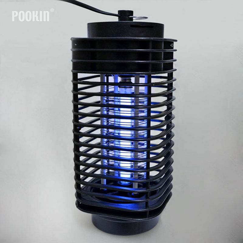 Electronics Mosquito Killer Trap Moth Fly Wasp US EU 110V 220V Led Night Lamp Bug Insect Light Black Killing Pest Zapper usb e27 led electronic mosquito killer lamp trap moth fly wasp led night light bug zapper insect anti mosquito killing repeller